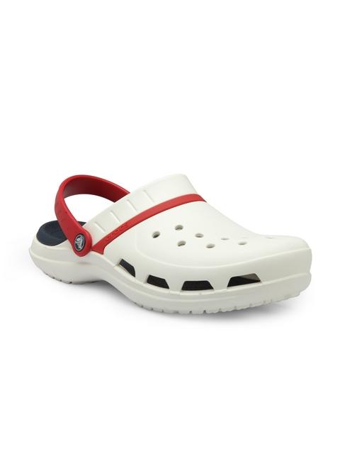 Crocs Men White Sport Clogs