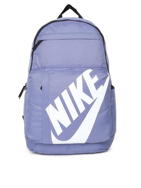 Nike Unisex Purple ELMNTL Brand Logo Backpack