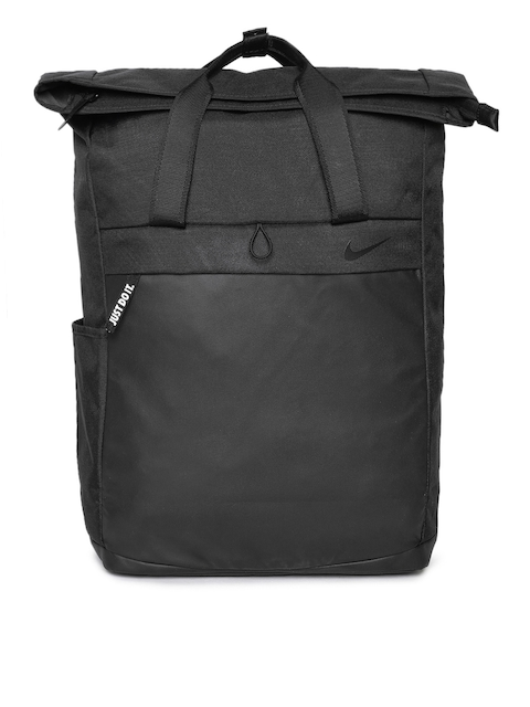 Nike Women Black Solid Backpack