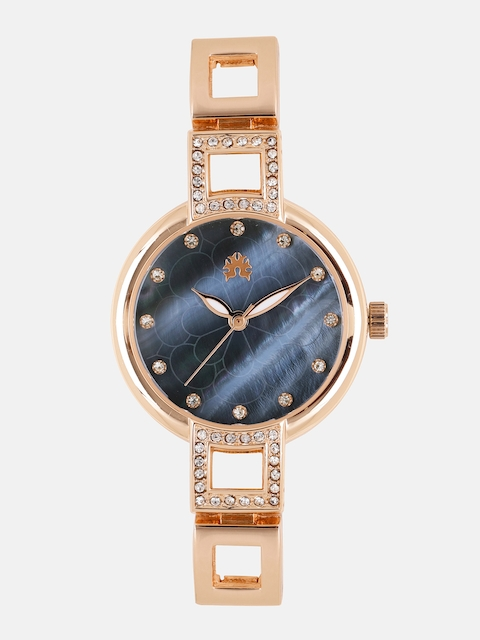 Anouk Women Blue Embellished Analogue Watch MFB-PN-WTH-K0019L