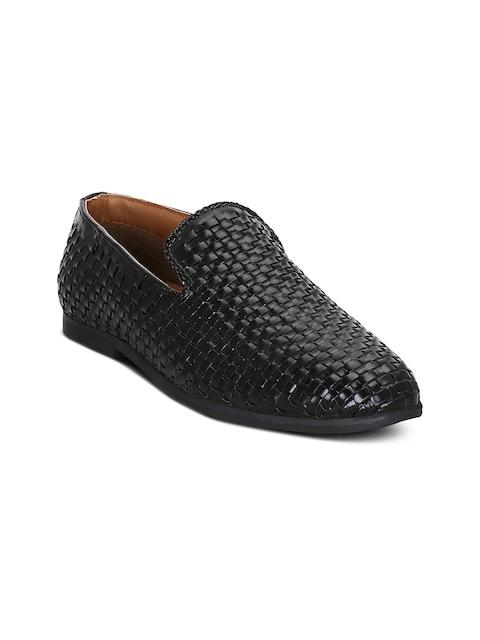 Get Glamr Men Black Semi-Formal Slip-Ons