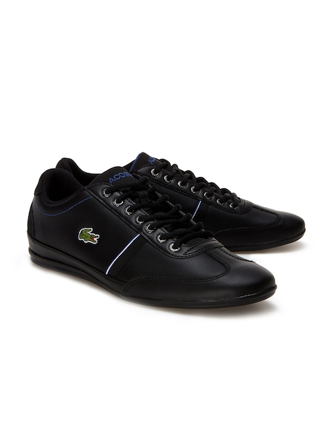 Lacoste Men Black Sneakers