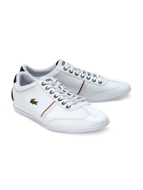 Lacoste Men White Sneakers