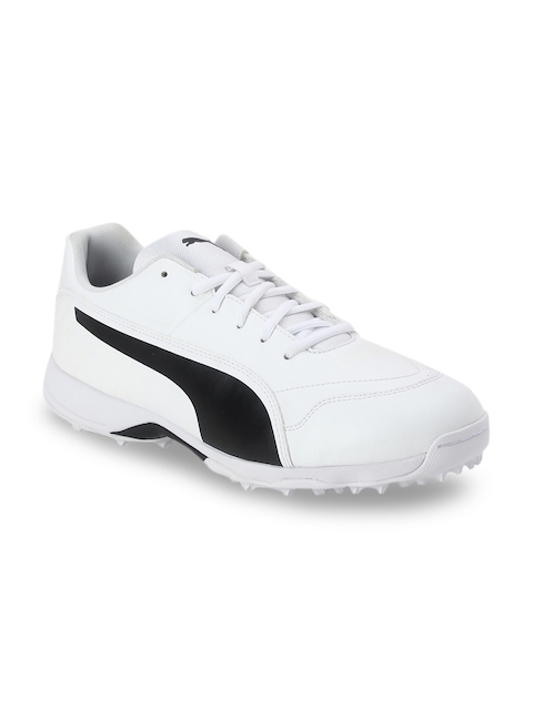 one8 x PUMA Men White Cricket Shoes