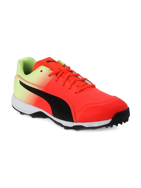 one8 x PUMA Men Red Cricket Shoes
