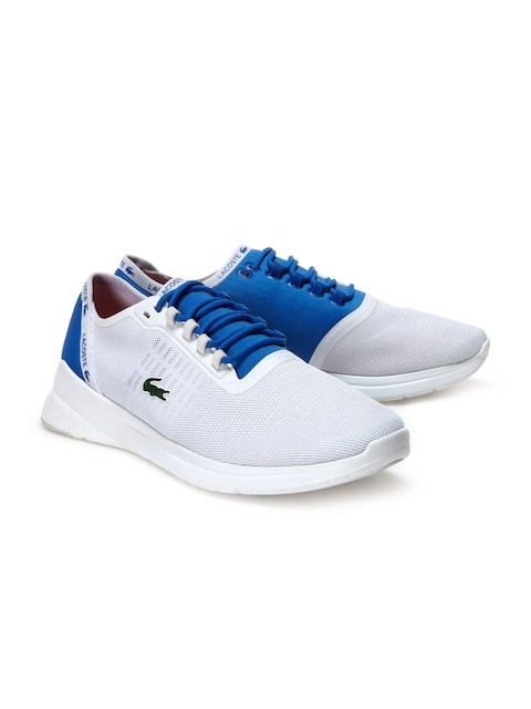 Lacoste Men White Training or Gym Shoes