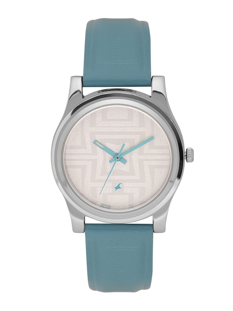 Fastrack Women Off-White Analogue Watch NK6046SL04_OR