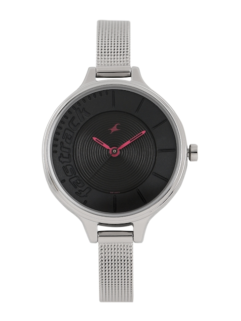 Fastrack Women Black Analogue Watch NK6122SM03_OR