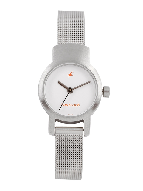 Fastrack Women White Analogue Watch