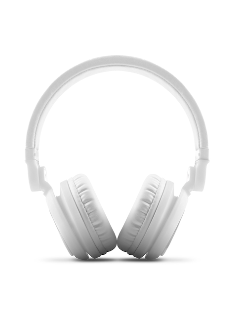 Energy Sistem Unisex White DJ2 Over-Ear Headphones with Mic