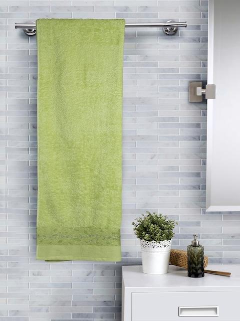 MASPAR Green 550 GSM Cotton Bath Towel