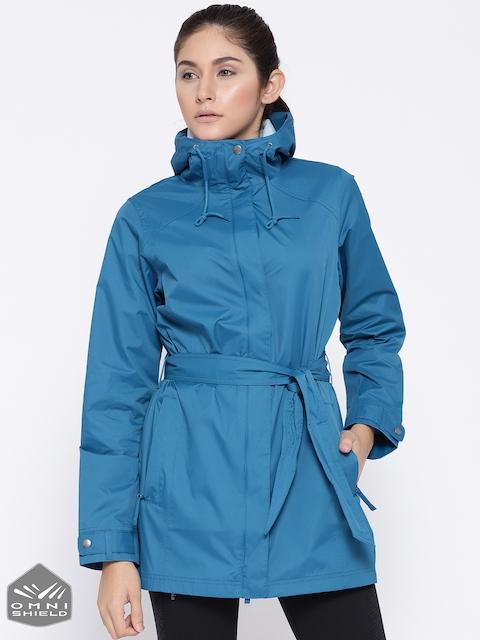Columbia Blue Pardon My Trench Rain Jacket