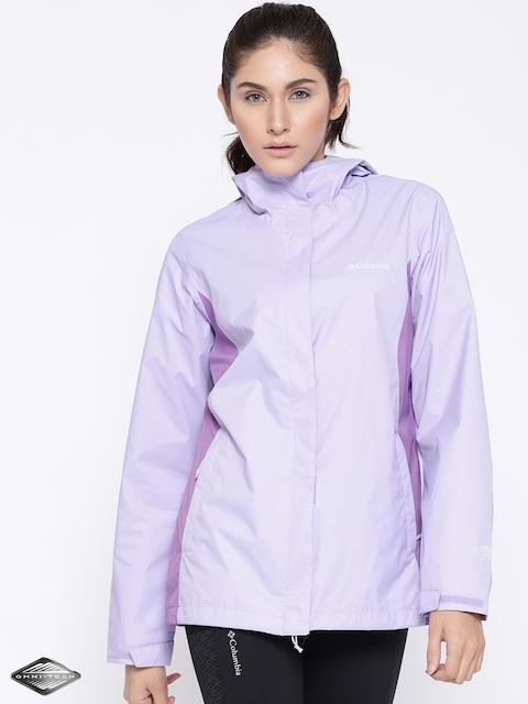 Columbia Lavender Arcadia II Rain Jacket