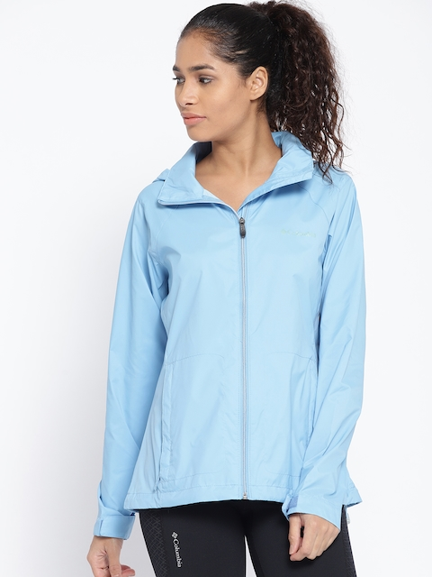 Columbia Blue Switchback III Rain Jacket