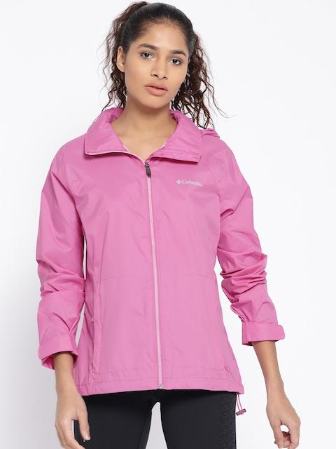Columbia Pink Switchback III Rain Jacket