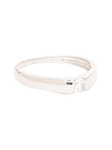Dare by Voylla Men Silver-Toned 925 Sterling Silver Ring