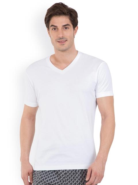 Jockey 24 x 7 Men White T-shirt 2726