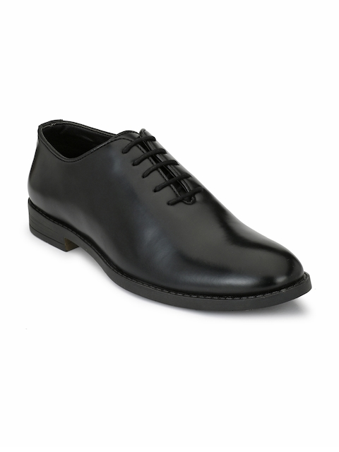 Fentacia Men Black Formal Oxfords