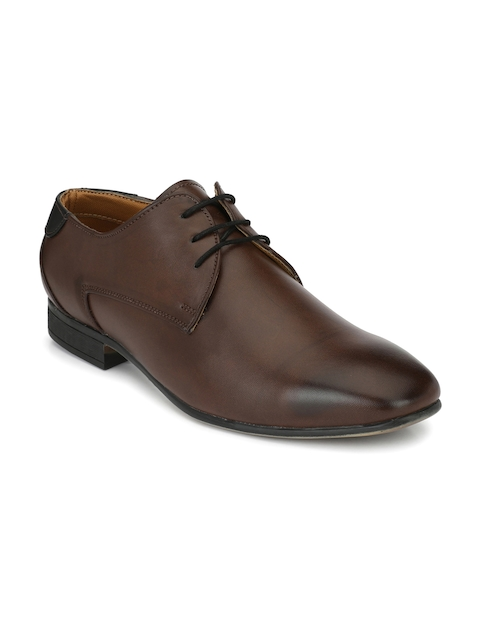 Fentacia Men Brown Formal Derbys