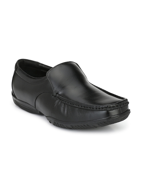 Fentacia Men Black Slip-ons Semi-Formal Shoes