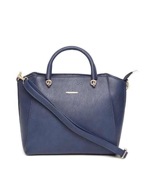 Diana Korr Navy Solid Handheld Bag