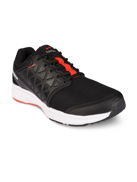 Campus Men Black Running Shoes 5G-493-R2-BLK-RED-9