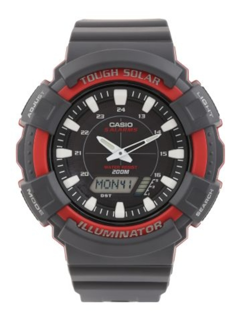 Casio Youth Series Analog-Digital  Black Dial Unisex Watch, AD-S800WH-4AVDF (AD189)