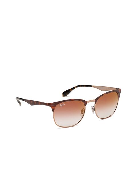 Ray-Ban Unisex Browline Sunglasses 0RB35389074V053