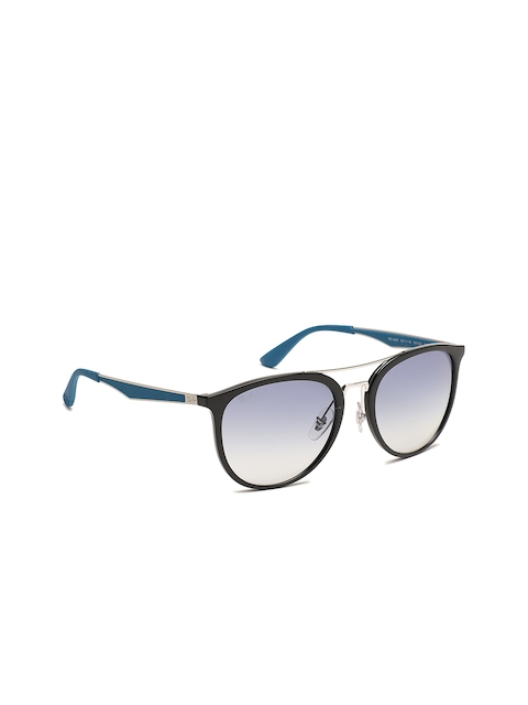 Ray-Ban Men Oval Sunglasses 0RB428563711955