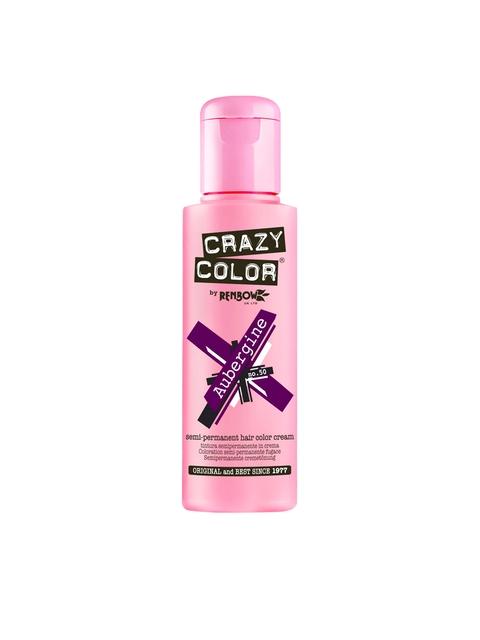Crazy Color By Renbow Semi-Permanent Hair Color Cream Aubergine No.5
