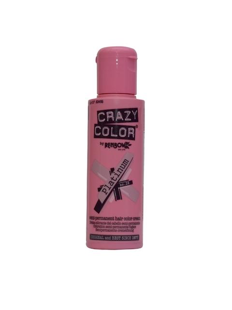 Crazy Color Unisex Platinum 28 Semi-Permanent Hair Colour 100 ml