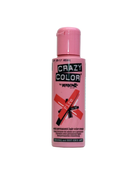 Crazy Color Unisex Fire Semi-Permanent Hair Colour No.56 100ml