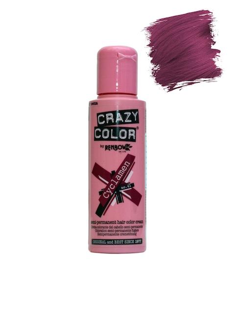 Crazy Colour by Renbow Semi-Permanent Hair Color Cream Cyclamen No.41 100 ml