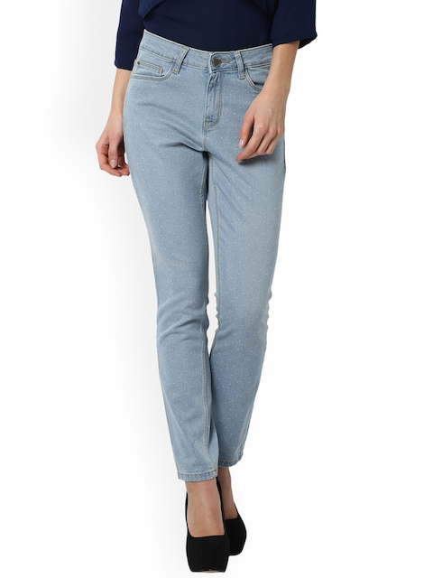 Van Heusen Woman Blue Mid-Rise Clean Look Jeans