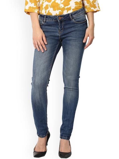 Van Heusen Woman Blue Mid-Rise Clean Look Jeans