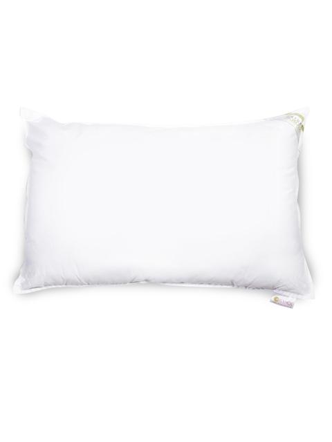BIANCA White Cotton Pillow