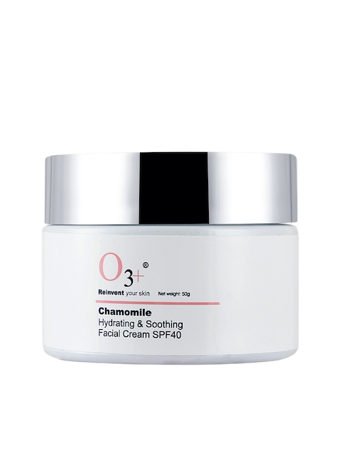 O3 Unisex Chamomile SPF 40 Hydrating & Soothing Facial Cream