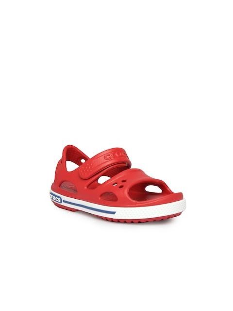 Crocs Boys Red Comfort Sandals