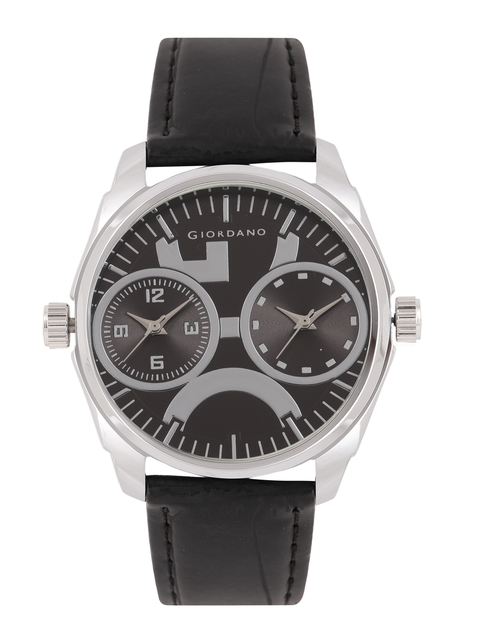 GIORDANO Men Black Analogue Watch 60060 DTL