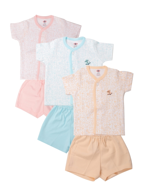 Zero Kids Pack of 3 Printed Clothing Sets