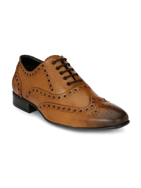 Alberto Torresi Men Tan Brogues