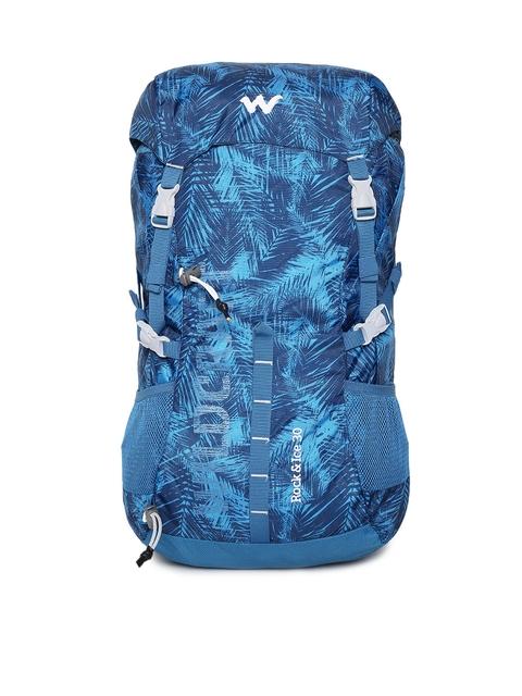 Wildcraft Unisex Blue Rock & Ice 30 Rucksack