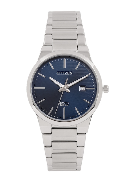 Citizen Men Navy Blue Analogue Watch