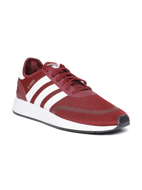 Adidas Originals Men Maroon N-5923 Casual Shoes