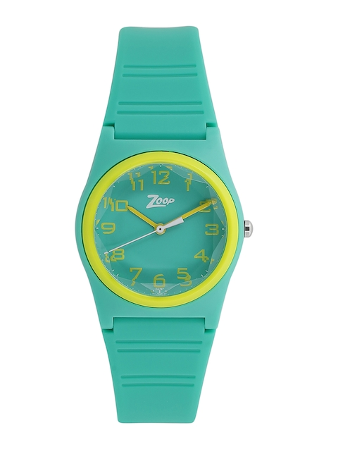 Zoop Boys Sea Green Analogue Watch NK26010PP03