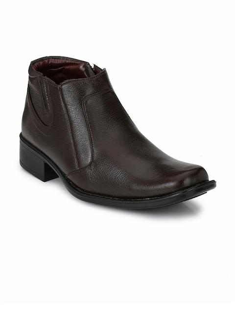 Mactree Men Brown Semi-Formal Slip-Ons