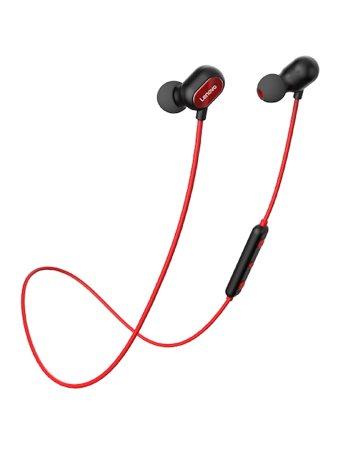 Lenovo Sports Red & Black Blutooth Headset H02