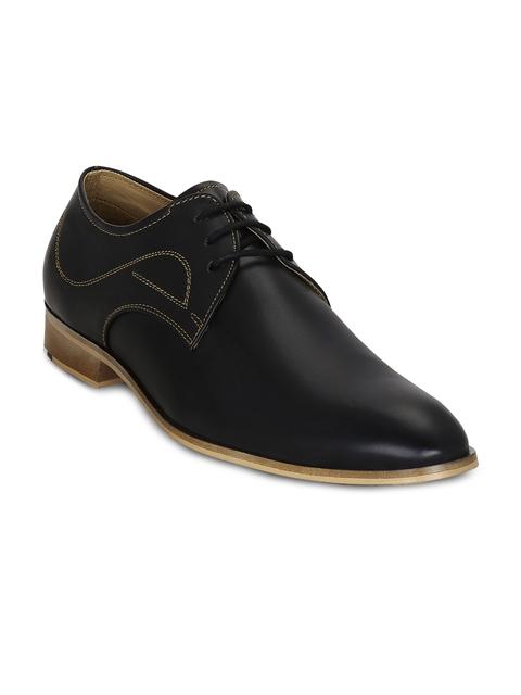 Kielz Men Black Formal Shoes