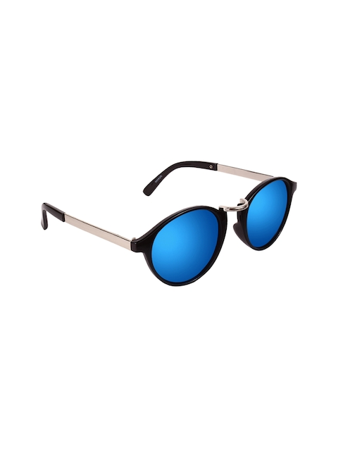 Olvin Unisex Mirrored Round Sunglasses OL18616-01