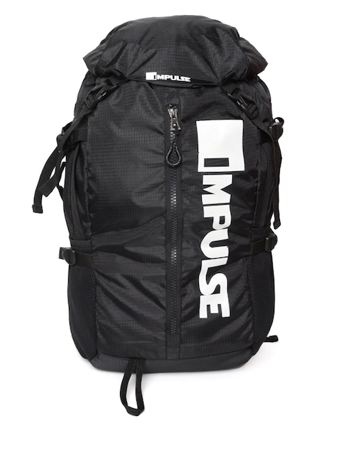 Impulse Unisex Black Climber 28 Litres Rucksack